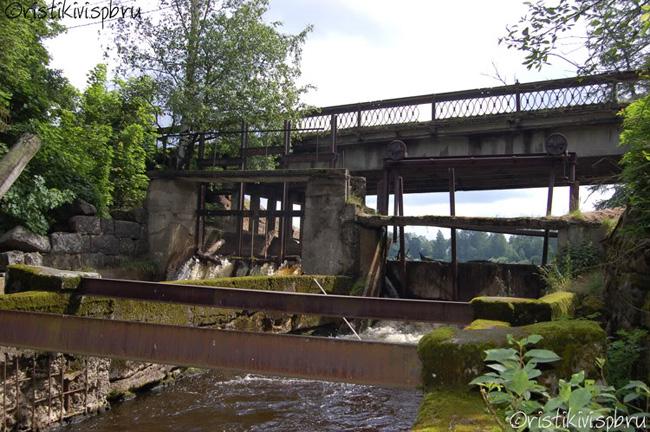 Райвола – плотина электростанции и мельницы Ильи Галкина